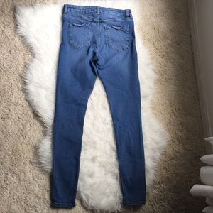ASOS Jeans - ASOS Distressed Knee Skinny Jeans